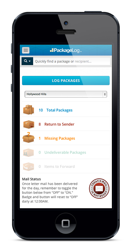 Postal Solutions | Mail Management, Package Logging Software and Electronic Package Lockers (mobile)