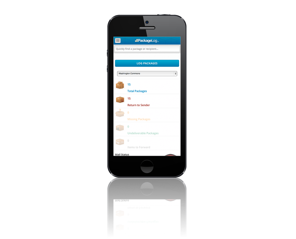 Package Tracking Mobile